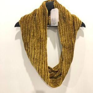 Zara Mustard Loop Scarf